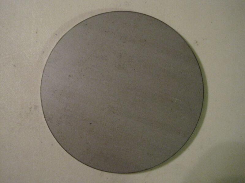 """1/4"""" Steel Plate, Disc Shaped, 4"""" Diameter, .250 A36 Steel"""