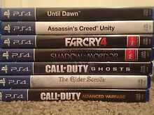 PS4 Games Bundle (Discounted Price) Warnbro Rockingham Area Preview