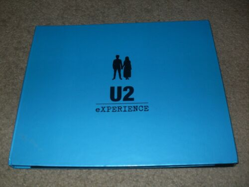 U2 Experience + Innocence Tour VIP Collectible Book 2018 Numbered Edition