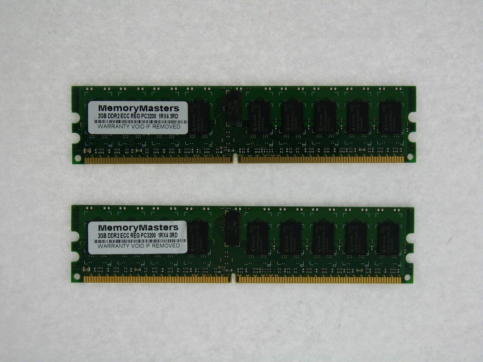 NOT FOR PC//MAC 4GB 2X2GB Dell PowerEdge 2850 Server Memory RAM ECC REG