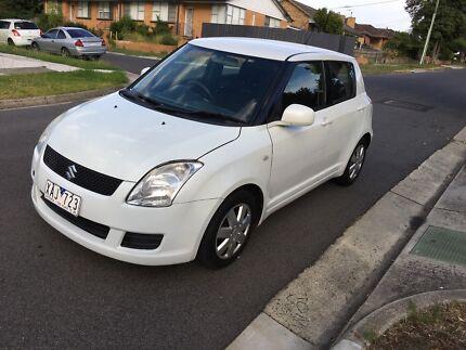 2009 Suzuki Swift,rego, RWC 1-3 year warranty