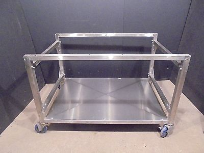 Equipment Stand Base Table Cart  On Wheels