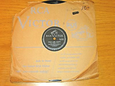 Vocal Group 78 Rpm   Sunny Gale   Du Droppers   Rca 20 5543 Mamas Gone  Goodbye