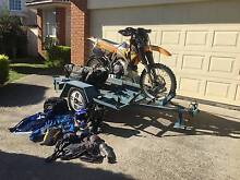 KTM 300 EXC and triple bike trailer complete with riding gear Rowville Knox Area Preview
