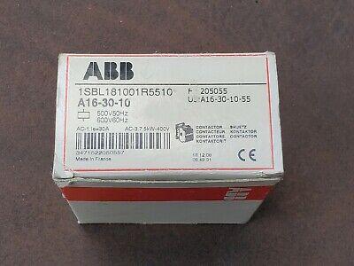 Abb Contactor A16-30-10 500v 50hz 600v 60hz