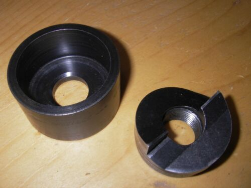 """USED:Greenlee 7238SB CONDUIT PUNCH & DIE-- 1 1/4, 1.25"""" inch. 721-1-1/4, 128av"""