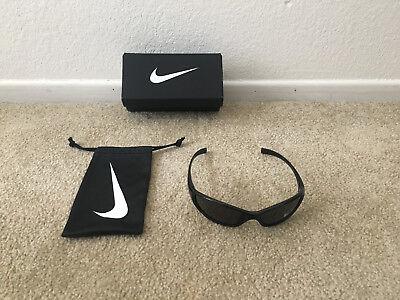 Nike Men's Sunglasses Tarj Sport Black EVO178 Max Optics Lenses New w/Tags (Nike Max Optics Sunglasses)