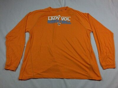 (NEW adidas Tennessee Volunteers - Orange ClimaLite Long Sleeve Shirt (2XL))