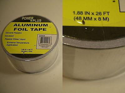 Aluminum High Temp Craft Tape Heat Shield Exhaust Duct Hobby Model Repair