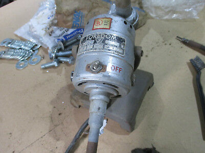 Usado, Foredom grinding tool motor with flex shaft pedestal mount 110V segunda mano  Embacar hacia Argentina