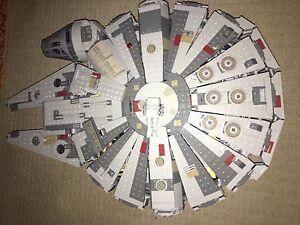 LEGO STAR WARS millennium falcon set Coomera Gold Coast North Preview