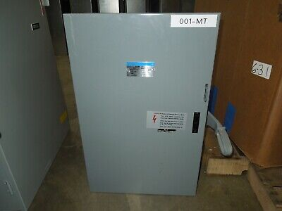 Gould Nf324dt 200a 3p 240vac Double Throw Non-fusible Manual Transfer Switch