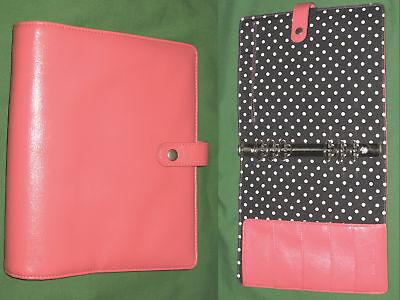 A5 1.25 Pink Faux Leather Carpe Diem Planner Simple Stories Filofax
