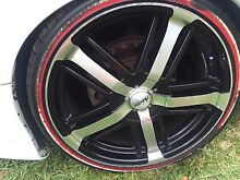 """Holden / ford multi stud 20"""" wheels all wheels pictured Penrith Penrith Area Preview"""