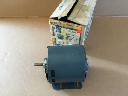 GE Fanuc 5XBF023 1/6HP 1725RPM 1PH 230V Electric Motor