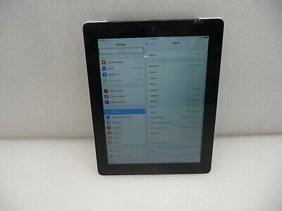 Apple iPad 3rd Gen. 16GB, Wi-Fi + Cellular, A1430, 9.7in - Black