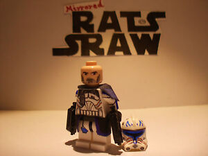 Lego Star Wars minifigures - Clone Custom Troopers - Captain Rex Phase 2