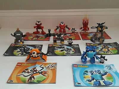 Lot Of Lego Mixels 8 Complete Sets Series 1 and 2