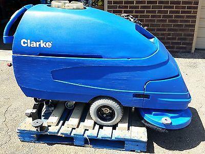 Reconditioned Clarke Focus S33 Walk-behind 33-inch Floor Scrubber Under 500hr