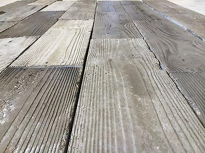 New Idea Commercial Rubber Molds Concrete Wood Grain Patio Pavers Veneer Tiles