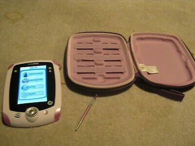 LEAPFROG LEAPPAD PINK LEARNING TABLET WITH CASE