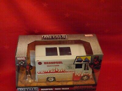 Jada 1/24 Marvel Deadpool Taco Truck - New 99730