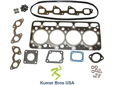 New Kumar Bros Usa Upper Gasket Kit For Bobcat 341 Kubota V2203