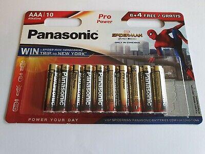 20 x Batterie AAA 1.5V Mignon Panasonic Pro Power Alkaline LR03  AM4-MN2400