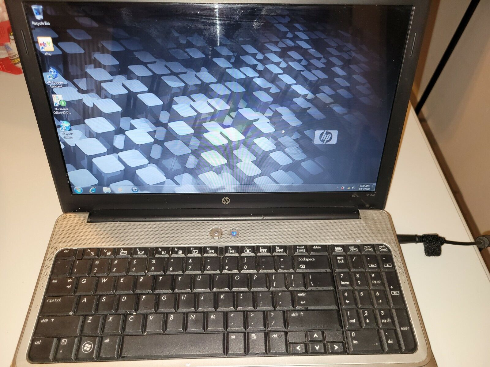 "Laptop Windows - HP Laptop G61-429WM AMD Sempron M120 15.6"" Windows 7 Home Premium 64-bit"
