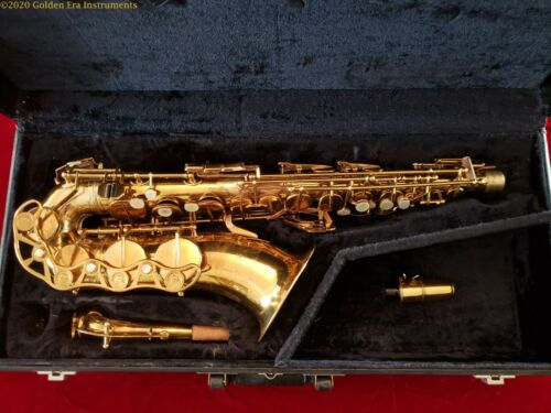 Much-played French Couesnon Professional Alto Saxophone Circa 1950