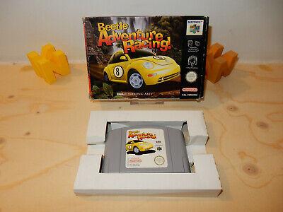 PAL N64: Beetle Adventure Racing OVP Boxed Box (UKV) without Manual Nintendo 64