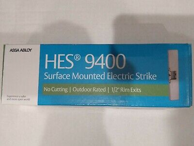 12//24VAC//DC Stainless Steel Electric Strike HES 5200C-12D//24D-630 1-1//4 in W