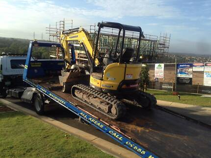 We Tow. Excavator,Forklift, Lift,Bobcat,Shipping Container Archerfield Brisbane South West Preview