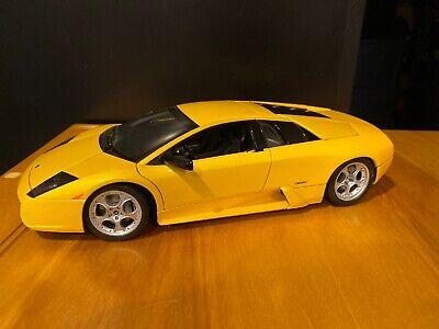 AUTOart Lamborghini Murcielago Yellow 1:18 Scale Diecast Model Car PLEASE READ 18 Autoart Diecast Model