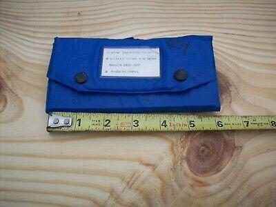 Machinist Radius Gage 25 Piece Set 164 - 12 Machinist Inspection Tool