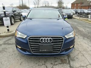 2015 Audi A3 KOMFORT CLEAN CAR FAX VERY CLEAN CONDITION SAFETY