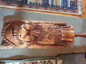 Rare Javanese Carving Balwyn Boroondara Area Preview
