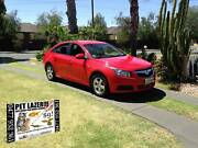 2010 Holden Cruze JG CD Red 6 Speed Sports Automatic Sedan Glenelg Holdfast Bay Preview