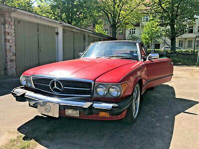 Mercedes-Benz SL 1987 r107 560 sl
