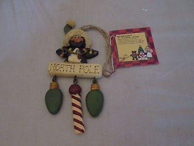 Little Blessing Suzi Skoglund Penguin Dangler Christmas Ornament