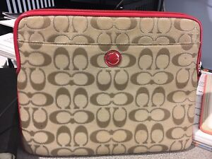 Coach iPad case