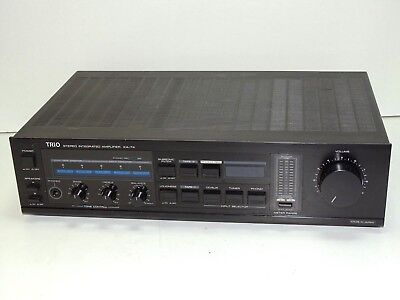 Trio KA-74 Built In MM Phono Stage Stereo Integrated Vintage Amplifier