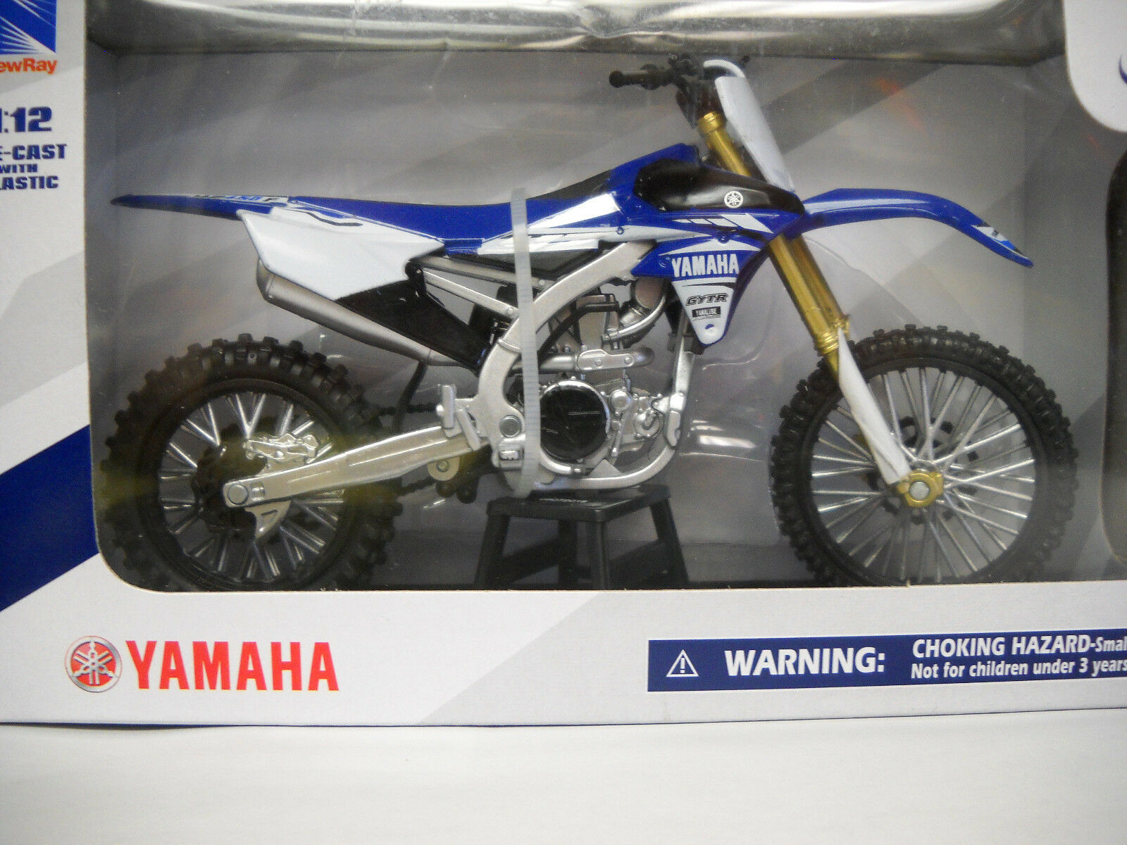 Yamaha YZ450F 2017 1/12 Motorcycle Model Dirt Bike Toy by Ne