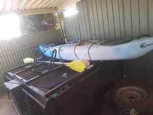 Kayak x 2 and 7x5 Trailer (will sell seperatly) Woodville West Charles Sturt Area Preview