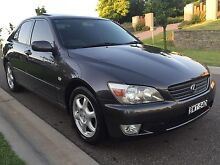 2000 LEXUS IS200 SPORTS LUXURY ONLY 97,000 KMS! SUNROOF LONG REGO AUTO Spring Farm Camden Area Preview