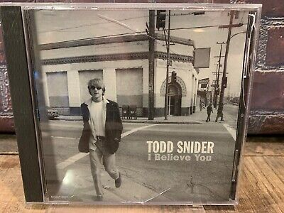 I Believe You By Todd Snider (CD, Promo Einzeln) ()