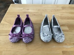 Sparkly dress shoes size 7t