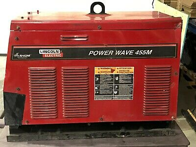 Lincoln 455 Power Wave Welder Serviced And Tested