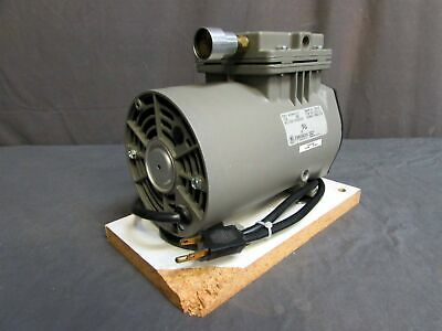 Thomas Industries Model 607ba44 Wob-l Piston Air Compressorvacuum Pump