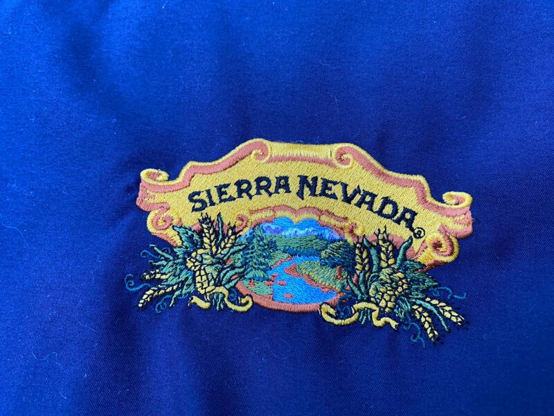 SIERRA NEVADA Brewing Beer Mens Large Pullover Jacket Windbreaker